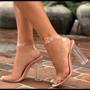 Fashion Nova The Glass Slipper - Transparent Heels
